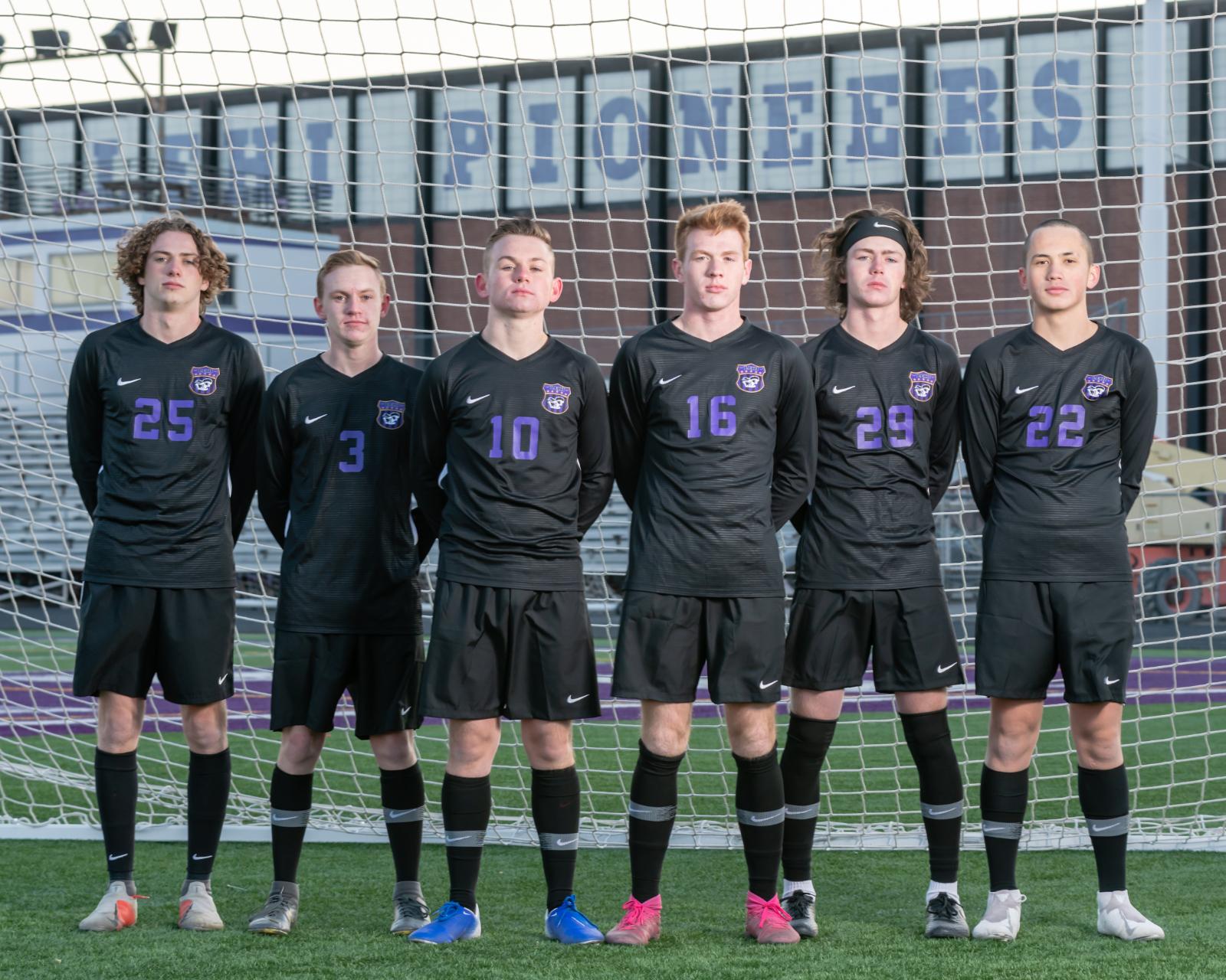 Boys Soccer Seniors 2020