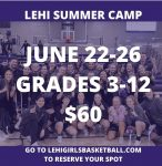 Girls 2020 Summer Basketball camp
