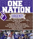 Football tryouts are here!