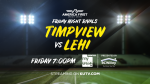 "Lehi vs Timpview Streaming on KUTV as ""Friday Night Rivals"" on 9/25"
