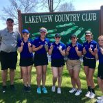 Girls Varsity Golf finishes 1st place at WCAC Conference Event @ Lakeview Country Club (Winterset)