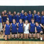 Girls 8th Grade Volleyball falls to Woodward-Granger 3 – 0