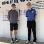 Parker Fryar and Dylan Sherlock advance to 2A District Golf Meet