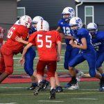 7th Grade Football beats Earlham 22 – 8