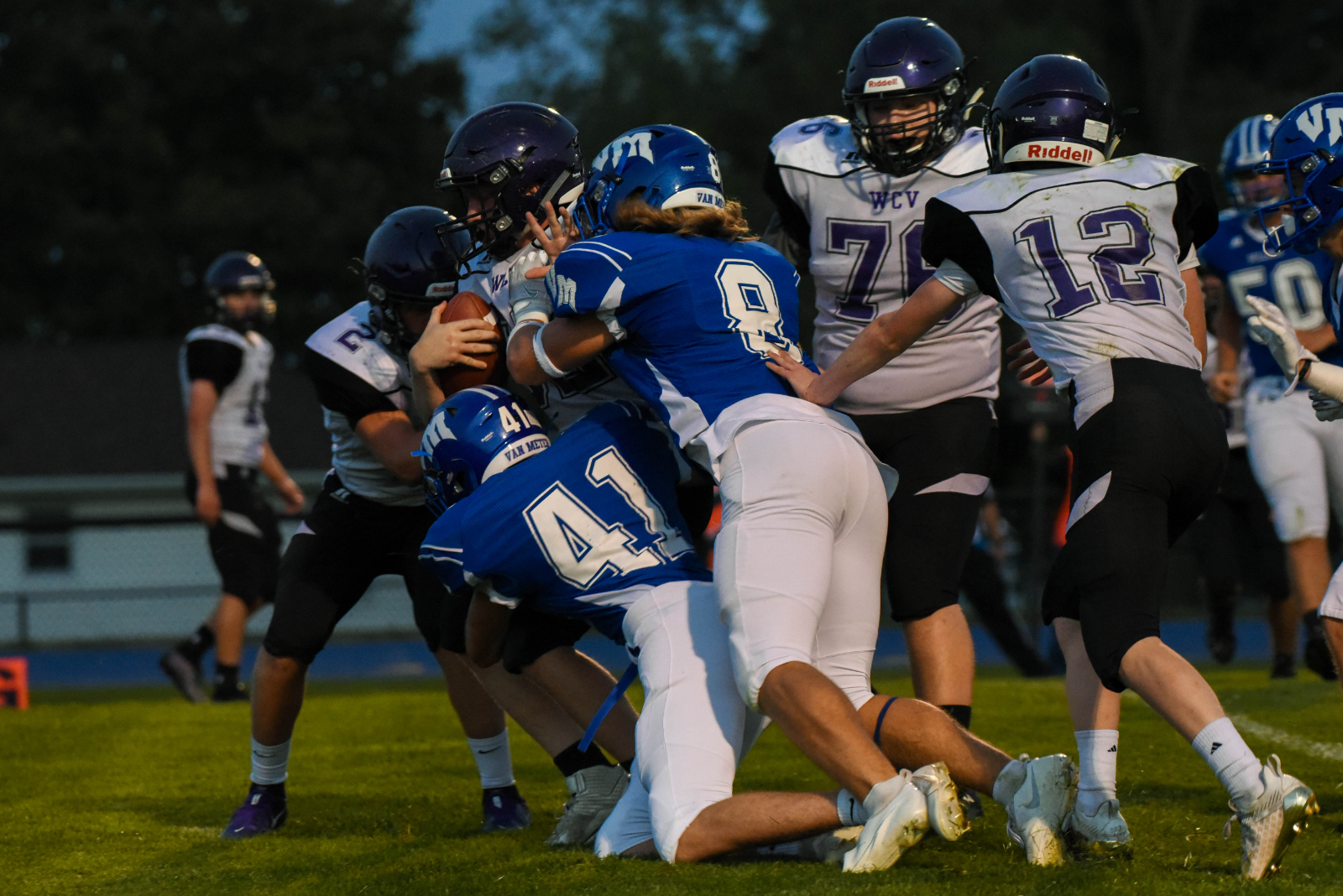 Bulldogs Post 48-6 Homecoming Victory Over WCV