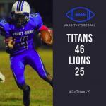 Titans Beat Lions