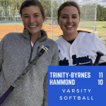 TBCS Varsity Softball Beats Hammond