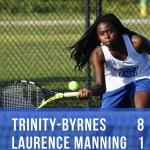 TBCS Tennis Defeats Laurence Manning