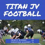 JV Football Beats Christian Academy