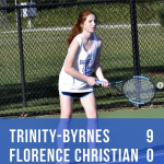 TBCS Tennis Remains Undefeated