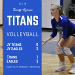 TBCS Volleyball vs Florence Christian