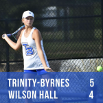TBCS Tennis Beats Wilson Hall
