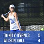 TBCS Tennis Beats Wilson Hall