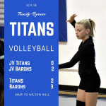 TBCS Volleyball vs Wilson Hall
