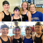 Girls Swim Competes in 3A Championship