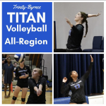 Cunningham, Morris and Swartz Make All-Region Volleyball
