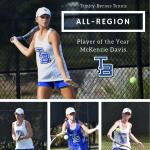 M Davis, H Davis, Johnston and Peebles Named All Region