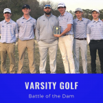 Varsity Golf Wins Battle of the Dam