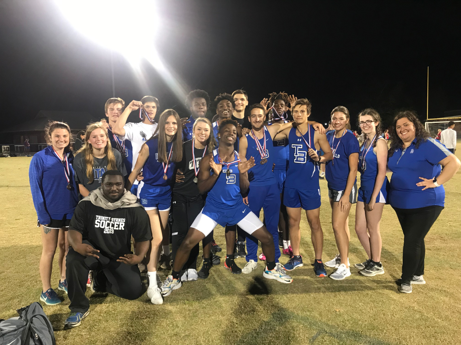 Varsity Track Heads to State