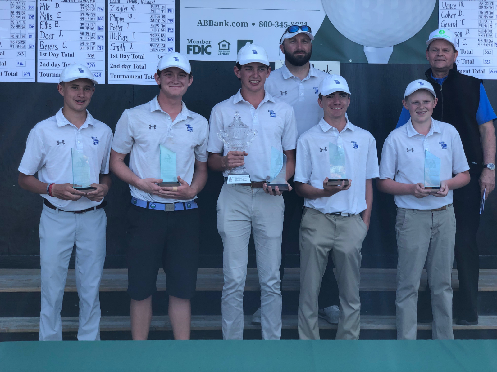 Golf Team Wins Anderson Brothers Invitational