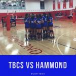 Volleyball  vs Hammond