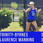 Tennis Defeats Laurence Manning