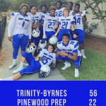 Varsity Football Defeats Pinewood Prep