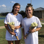 Varsity Tennis Beats Florence Christian on Senior Night