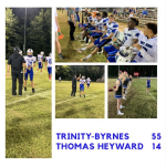 Varsity Football Beats Thomas Heyward