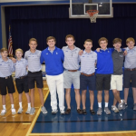 Golf Team Presented with Rings