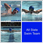 Baker, Carey and Phipps Named to All State Swim Team