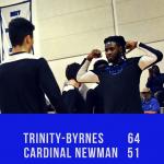 Varsity Boys Basketball Beats Cardinal Newman