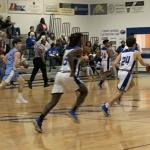 Varsity Boys Basketball Defeats Wilson Hall