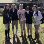 Equestrian Team Wins Winter Show
