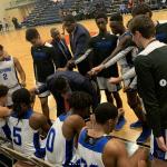Varsity Boys Basketball Win Semifinal
