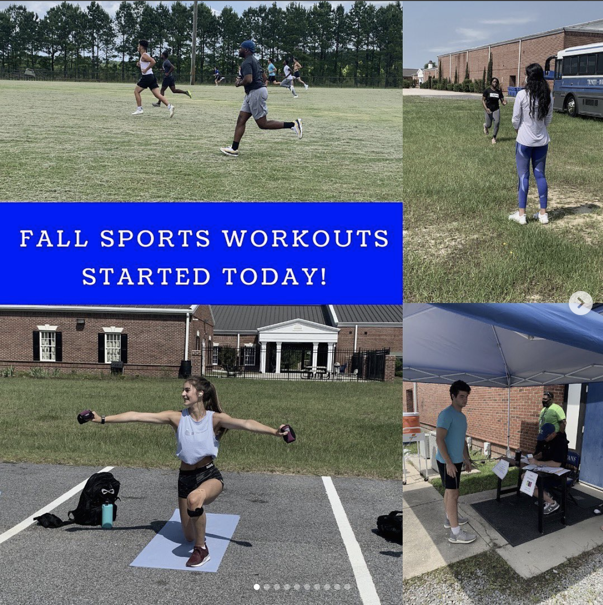 Fall Workouts Started!