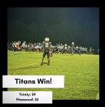 Titan Football Defeats Pinewood Prep