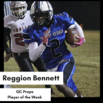 Bennett Named QC Preps Player of the Week