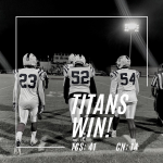Varsity Football Defeats Cardinal Newman
