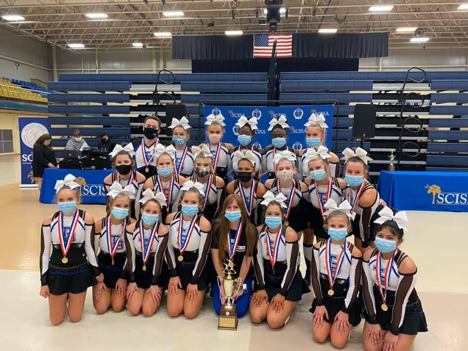 Competitive Cheer Back to Back State Champions