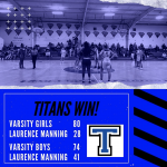 Titans Win vs Laurence Manning