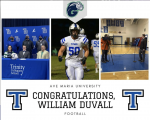 Duvall Signs with Ave Maria