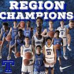 Varsity Boys Basketball Region Champs