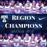 Varsity Girls Basketball Region Champs