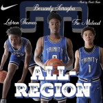 McLeod, Thomas and Saragba Make All Region