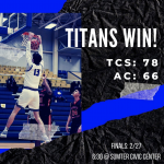 Titans Advance to State Championship