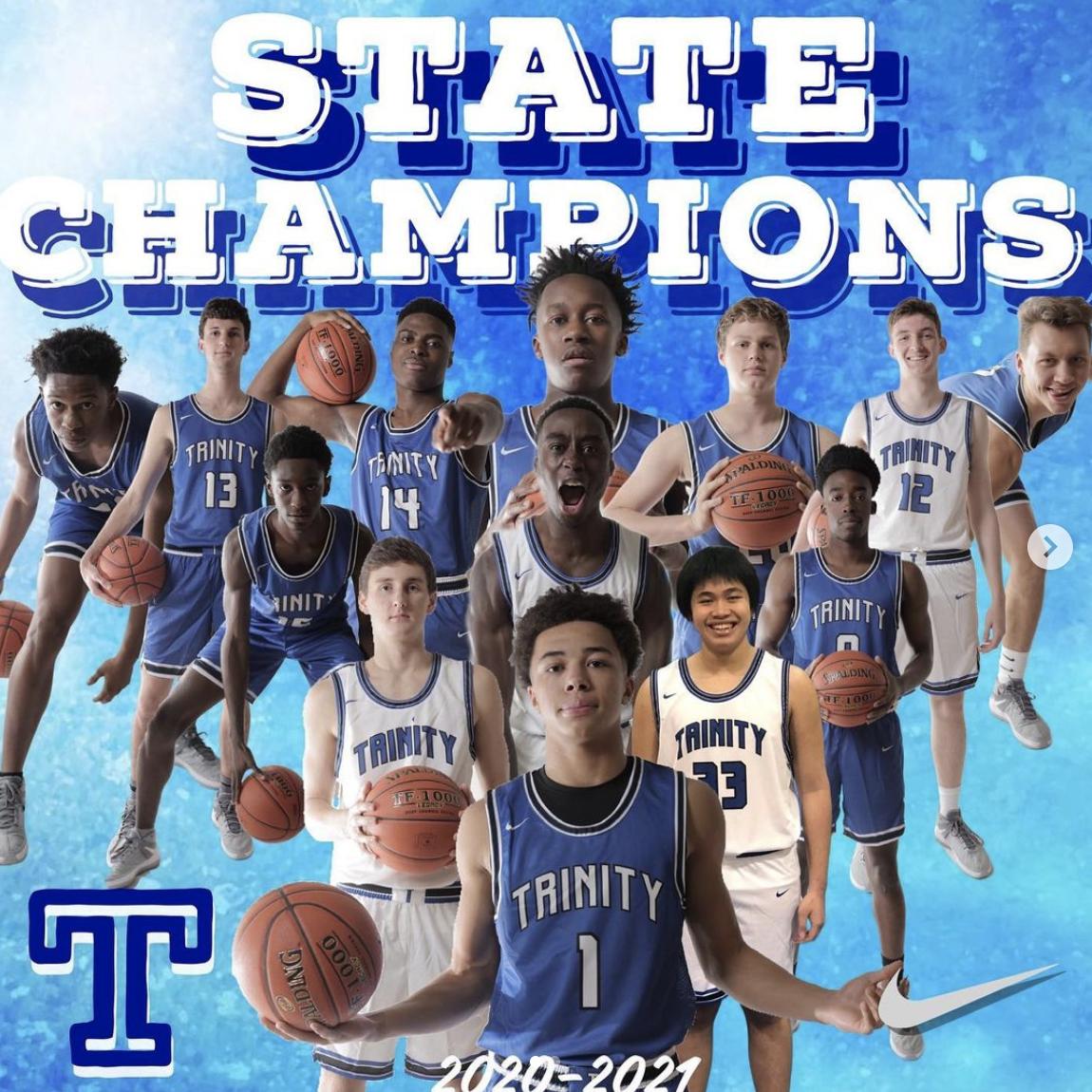 Varsity Boys Basketball 3A State Champions