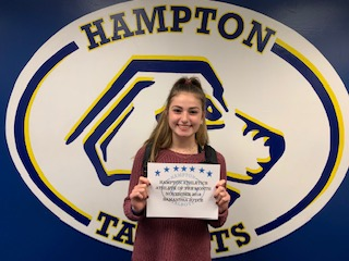 Congratulations to November's Athlete of the Month, Samantha Joyce! Sponsored by Wahlburgers