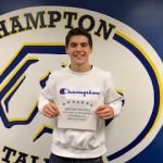 Congratulations to December's Athlete of the month, Ben Ringeisen! Sponsored by Wahlburgers