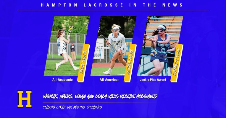 Several Talbots Girls Lacrosse Players receive accolades- Trib HSSN